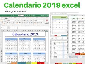 Calendario 2019 excel