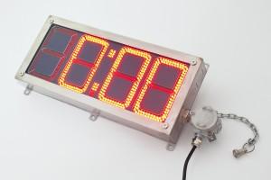 Взрывозащищенное светодиодное табло  SA-INDICATOR/CLOCK