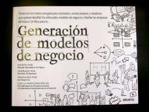 Libro recibido: Generación de modelos de negocio